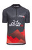fahrrad.de Basic Team Koszulka kolarska Mężczyźni czarny